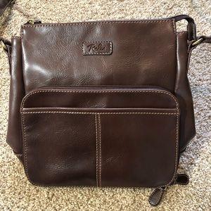 Relic crossbody bag brown